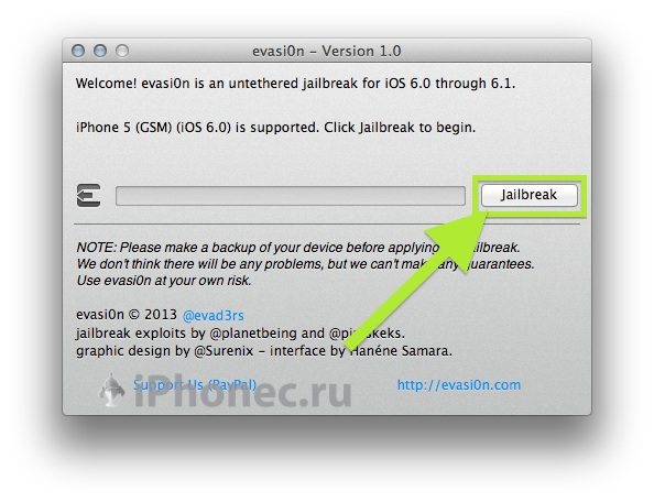 how to untethered jailbreak iphone 5 on iOS 6.0.1